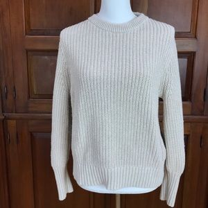 JCrew Chunky Knit Pullover Sweater